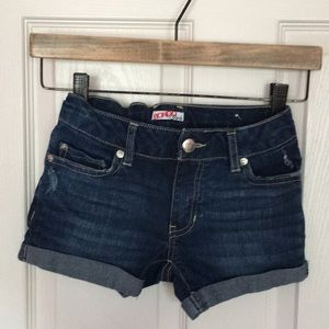 Youth Girls Jean Shorts